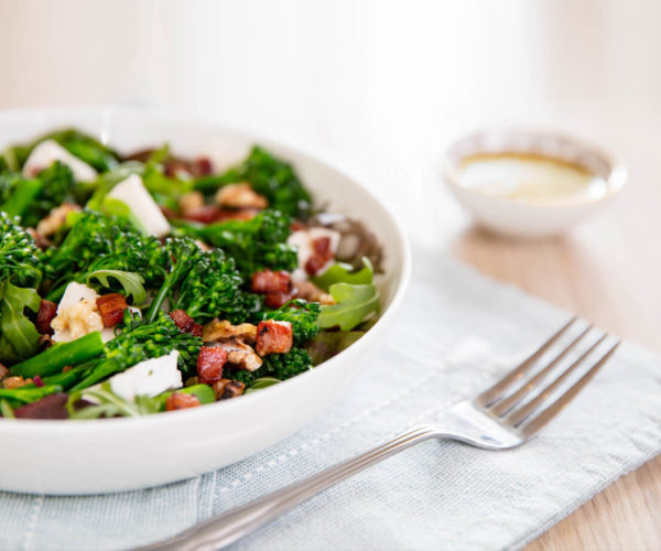 Tenderstem Salad And Fork