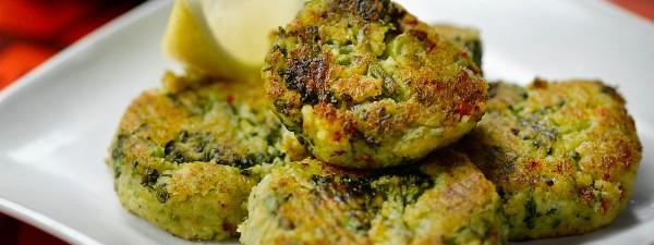 Tenderstem® Broccoli Chilli & Chickpea Bites