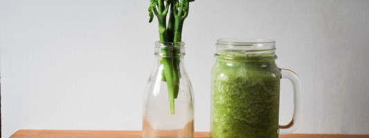 Tenderstem broccoli smoothie
